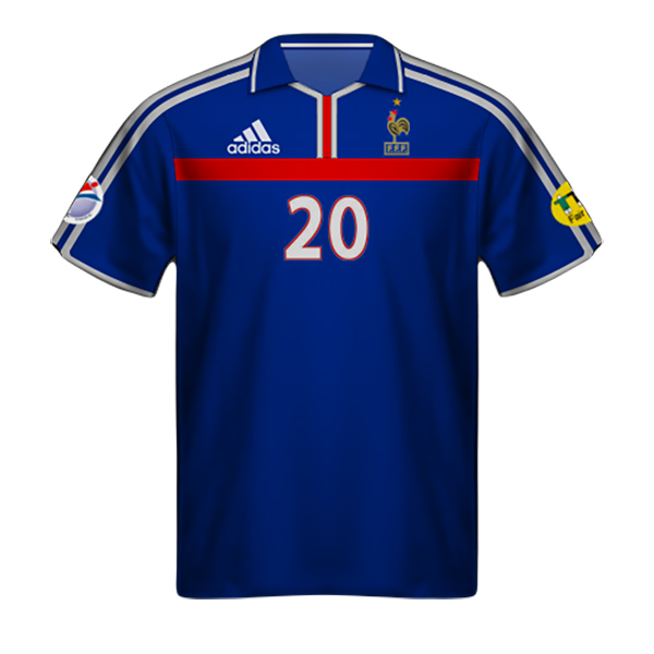 Camiseta Francia 2020