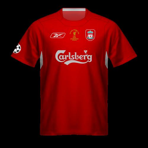 Camiseta Liverpool 2004-2005
