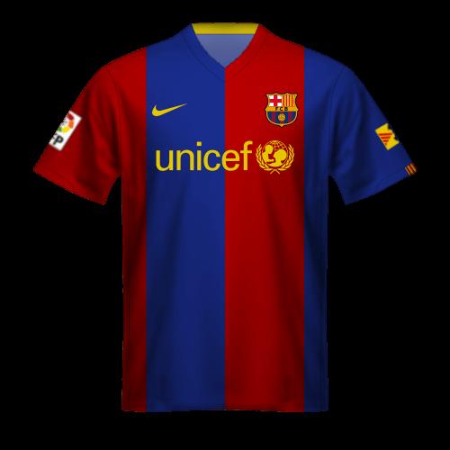 Maillot FC Barcelona 2006/07, Unicef