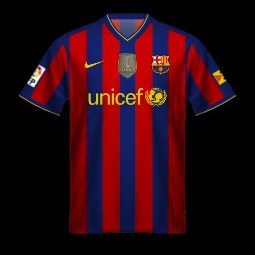 Maillot FC Barcelona 2009/10, Champion  Coupe du Monde des Clubs