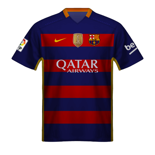 Maillot FC Barcelone 2015/16