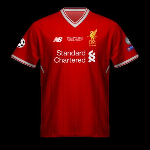 Camiseta Liverpool 2018