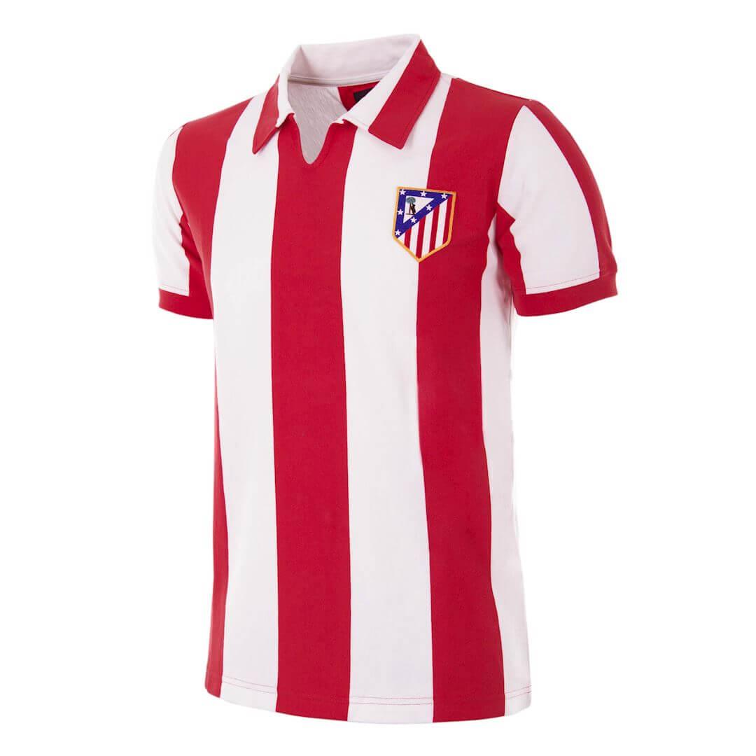 Atletico de Madrid 1970-71 Maillot Retro Football