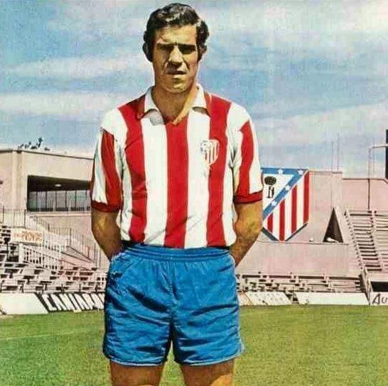 Atletico de Madrid 1970-71 Maillot Retro Football Luis Aragones