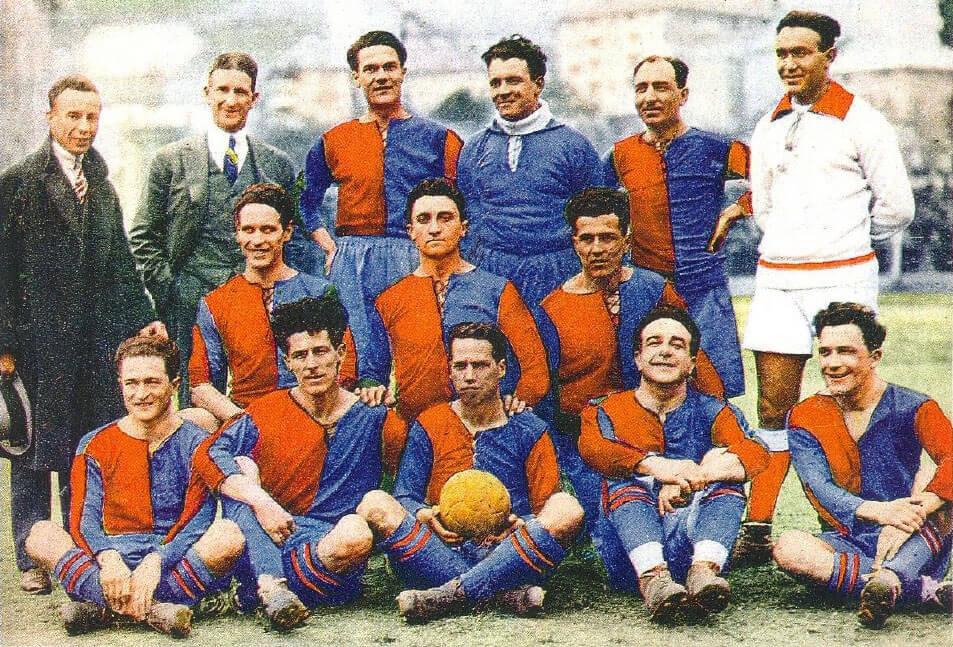 Le Genoa ha remporté 9 Championnat de l'époque amateur
