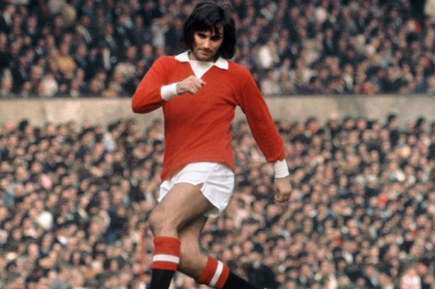Maillot George Best Manchester United