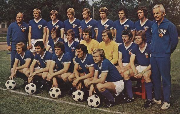 Maillot Retro DDR 1974