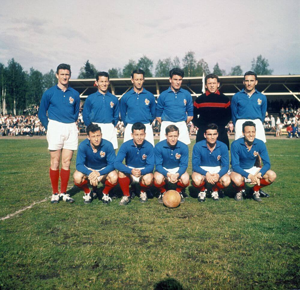 Maillot France 1958