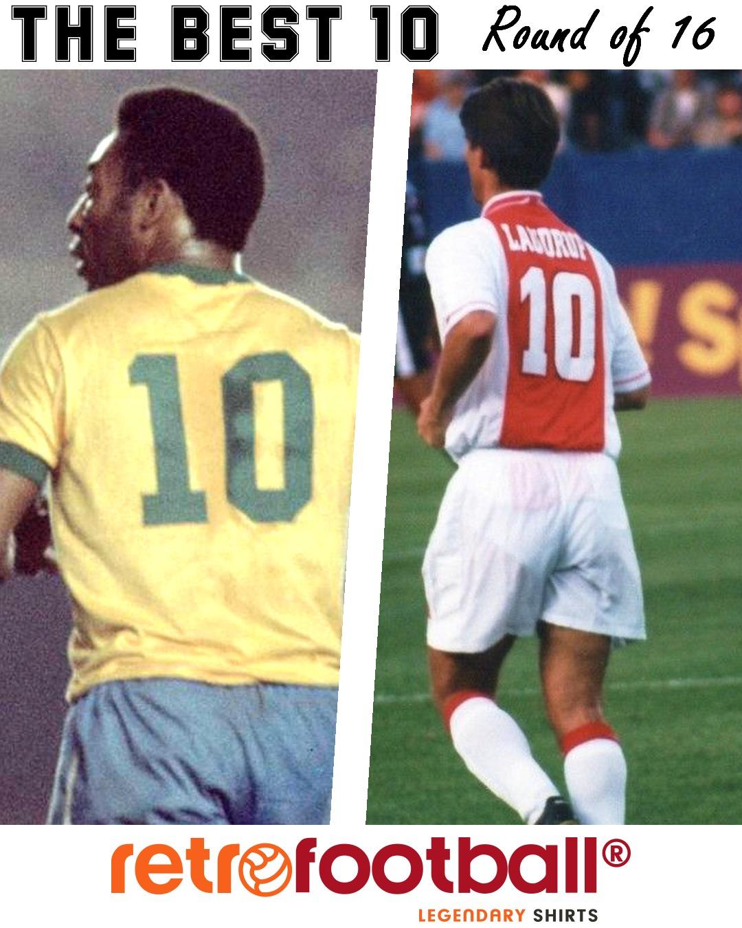 Le Meilleur 10 Pele vs Laudrup Retrofootball