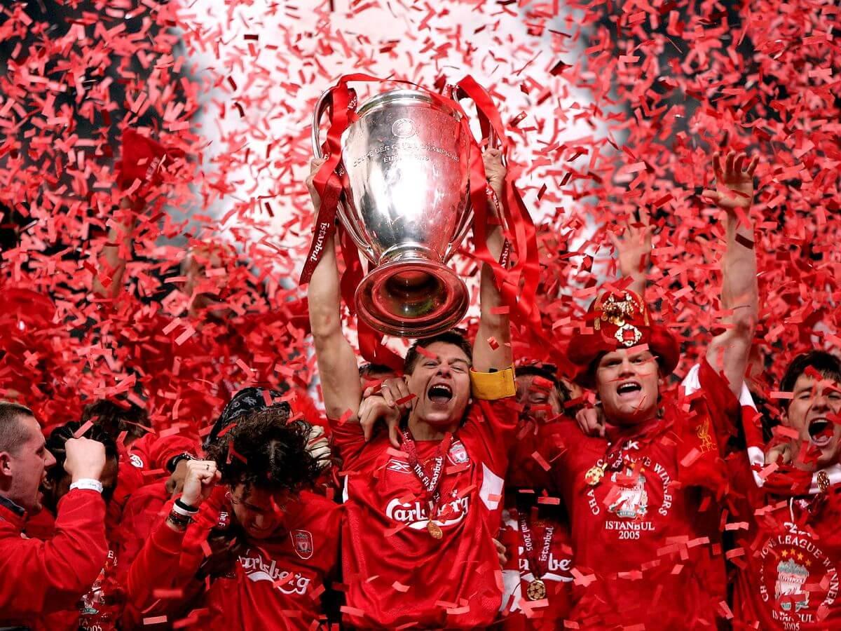 Steven Gerrard  Champions League de 2005  contre AC Milan