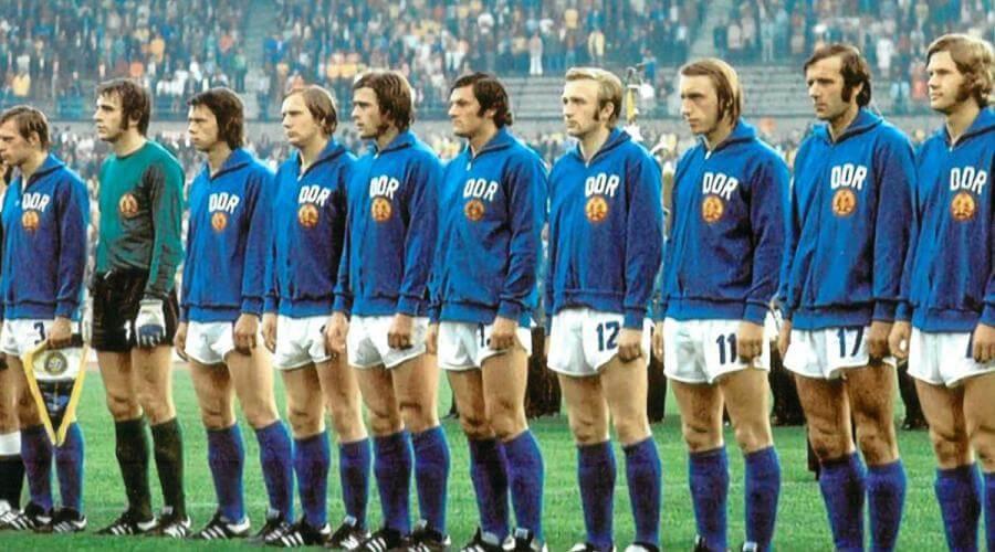 Allemagne de l'Est Coupe du Monde 1974