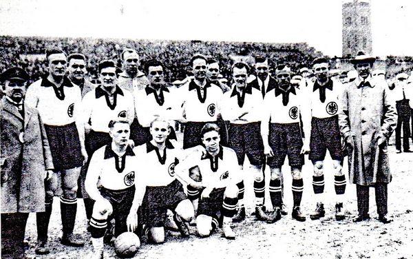 Équipe nationale de football d'Allemagne en 1924