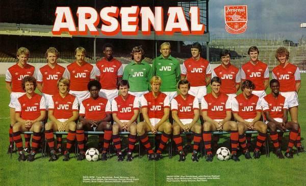 Équipe Arsenal FC 1982-83