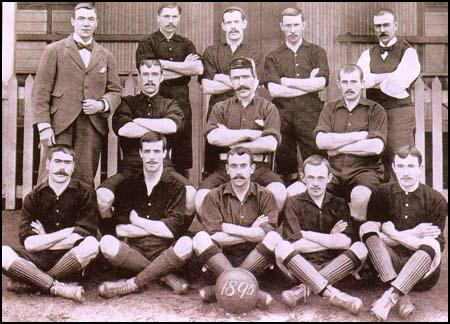 Arsenal FC équipe en 1895