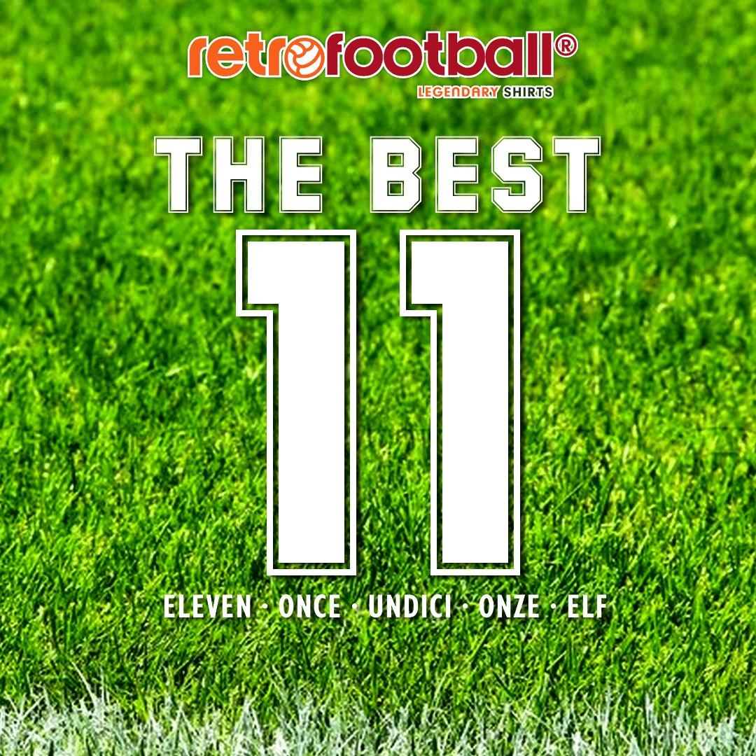 meilleur numéro 11 de l'histoire du football