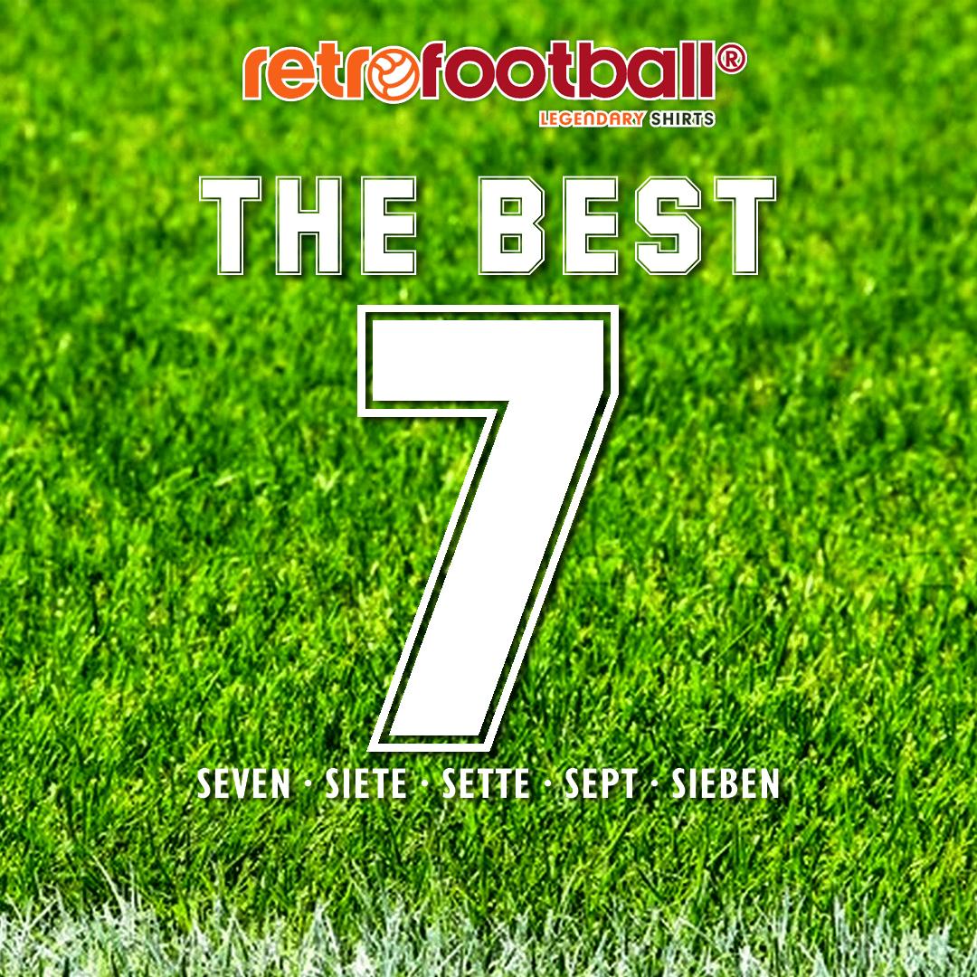 Le meilleur numéro 7 : Choisissez le meilleur 7 de l'histoire du football