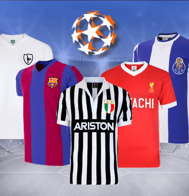 Maillots retro Champions League