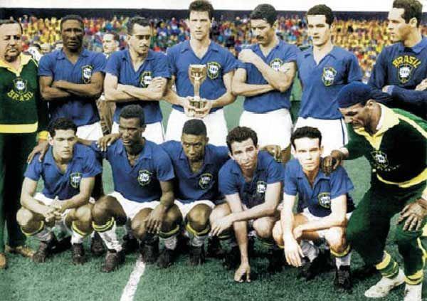 Brésil 1958 Coupe du Monde