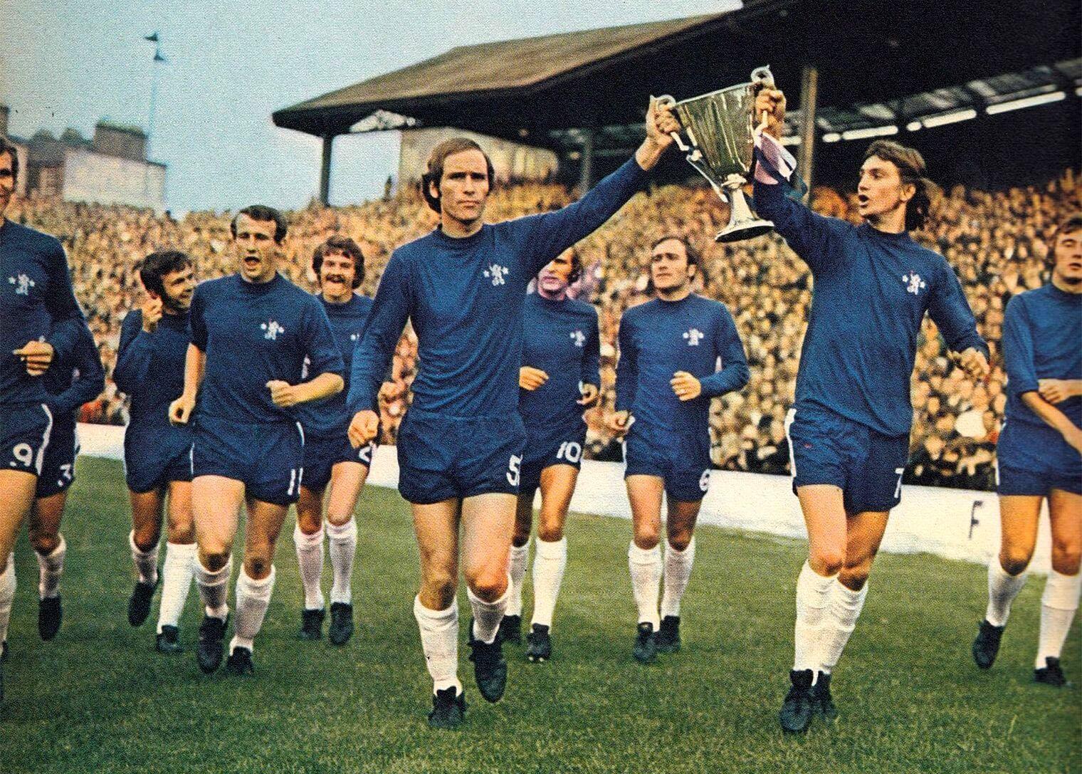 Chelsea FC vainqueurs de la Coupe d'Europe des vainqueurs de coupe : 1971