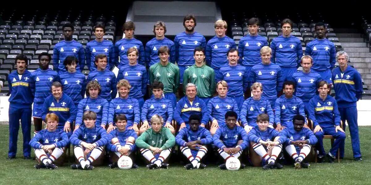 Chelsea FC équipe de 1984