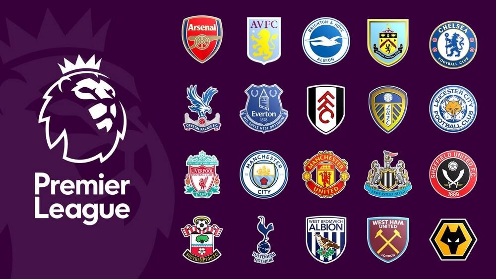 Écussons des clubs de la Premier League