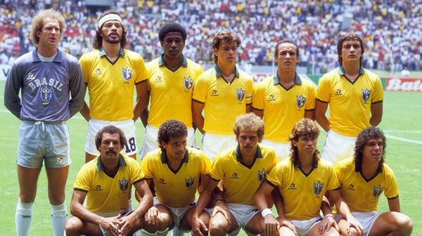 Équipe du Brésil Coupe du Monde 1986