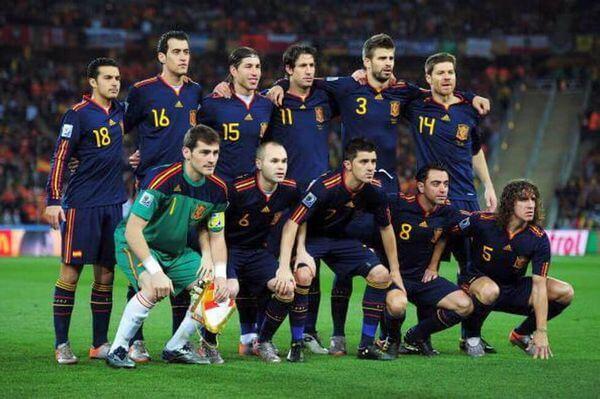 Espagne Coupe du Monde 2010