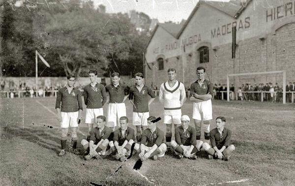 Espagne annés 20, les pionniers du foot