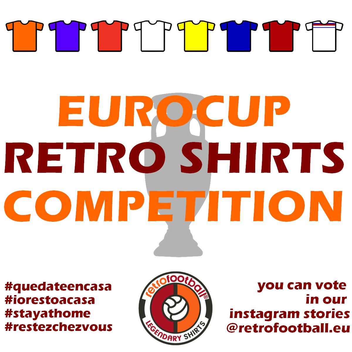 Euro 2020 Retrofootball - meilleur maillot de foot rétro de l'histoire