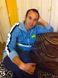 Maillot New Team Iniesta