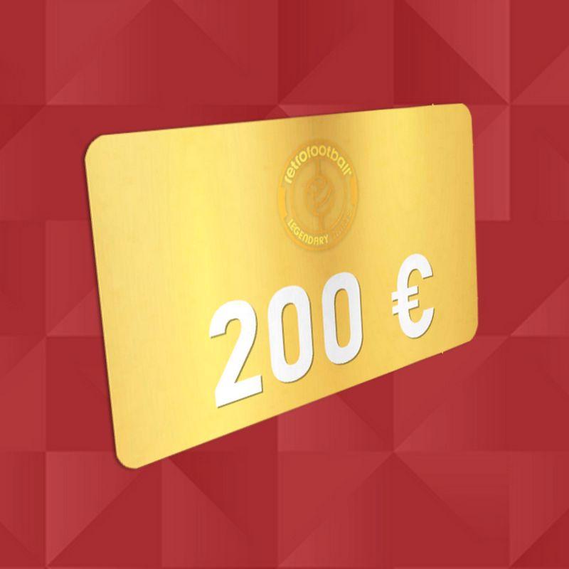 Carte Cadeau 200 € Concours