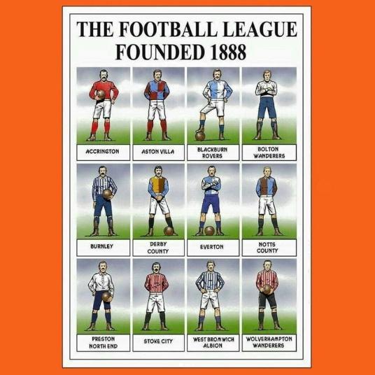Histoire de la football league anglaise