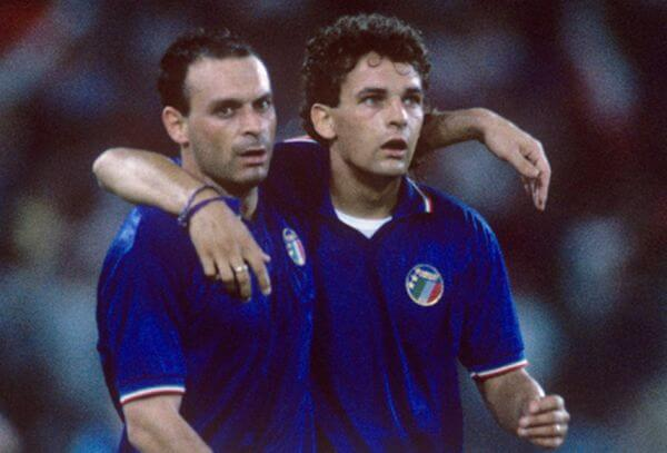 L'équipe d'Italie de football en 1990