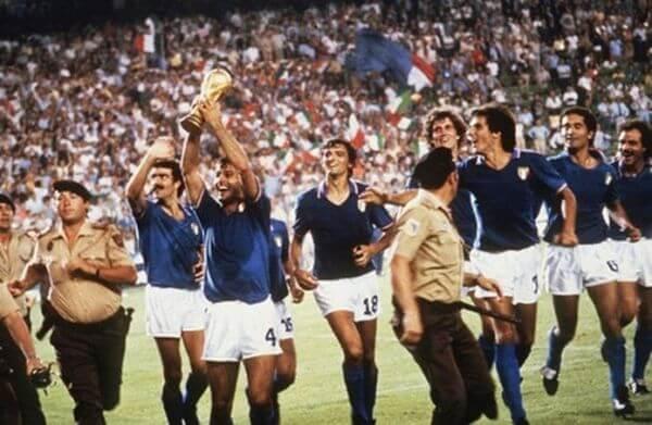L'équipe d'Italie de football en 1982