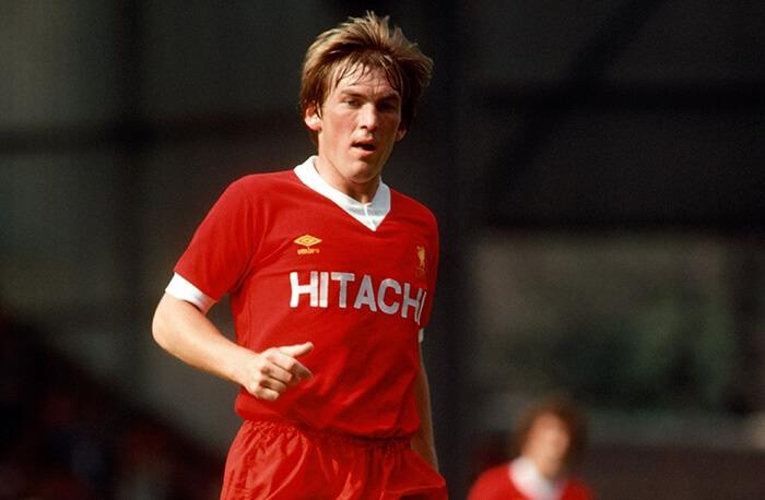 Kenny Dalglish avec le maillot du Liverpool 1979