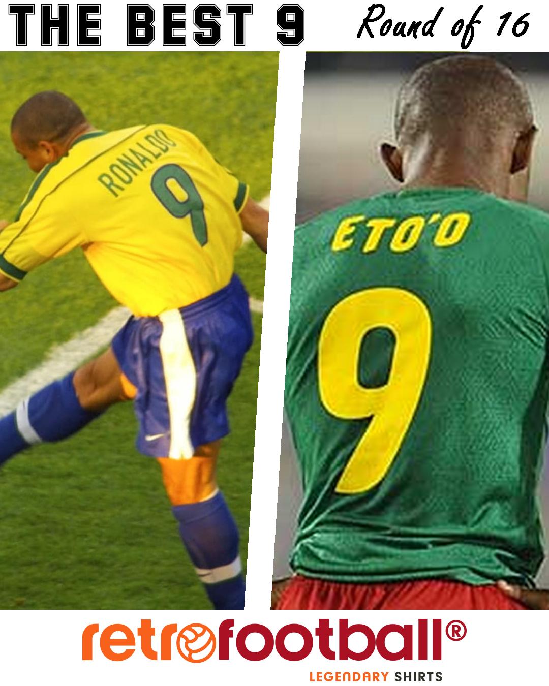 Le meilleur numéro 9 de l'histoire du football: Ronaldo vs Samuel Eto'o
