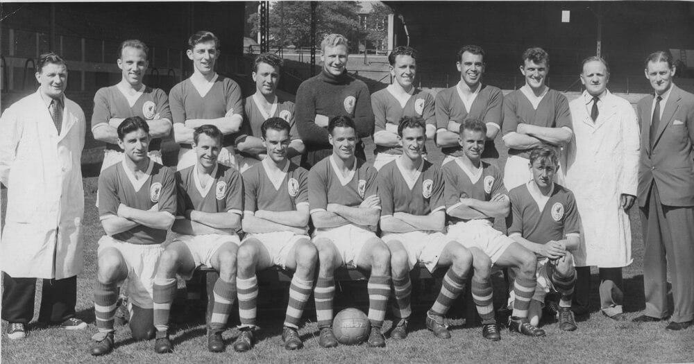 Équipe Liverpool FC en 1955