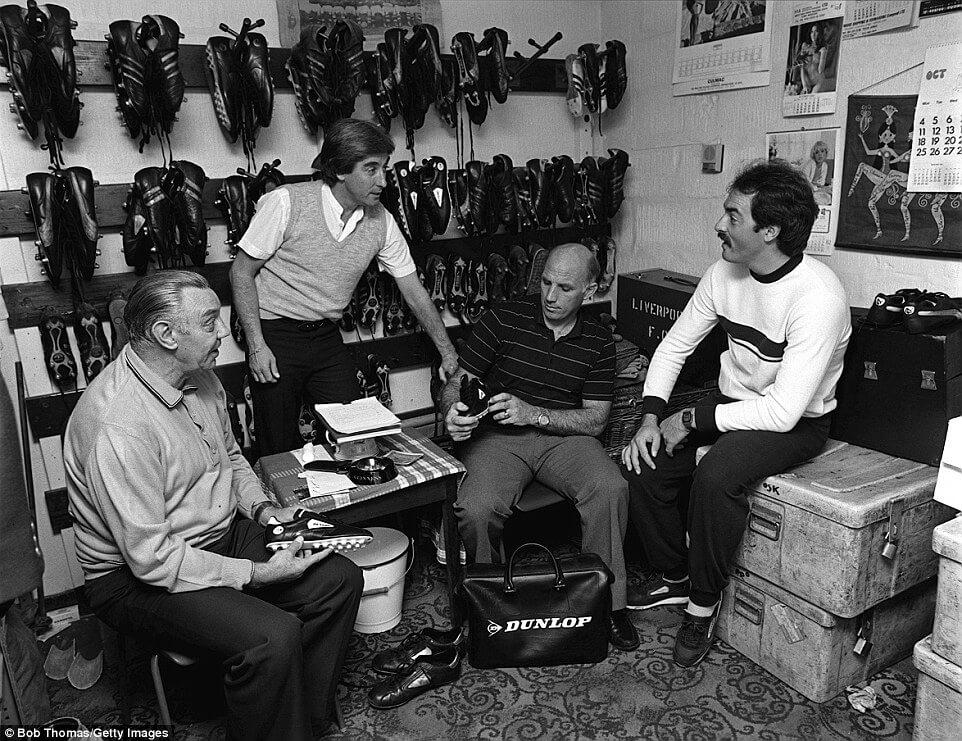 La Boot Room du Liverpool organisée par Bill Shanlky