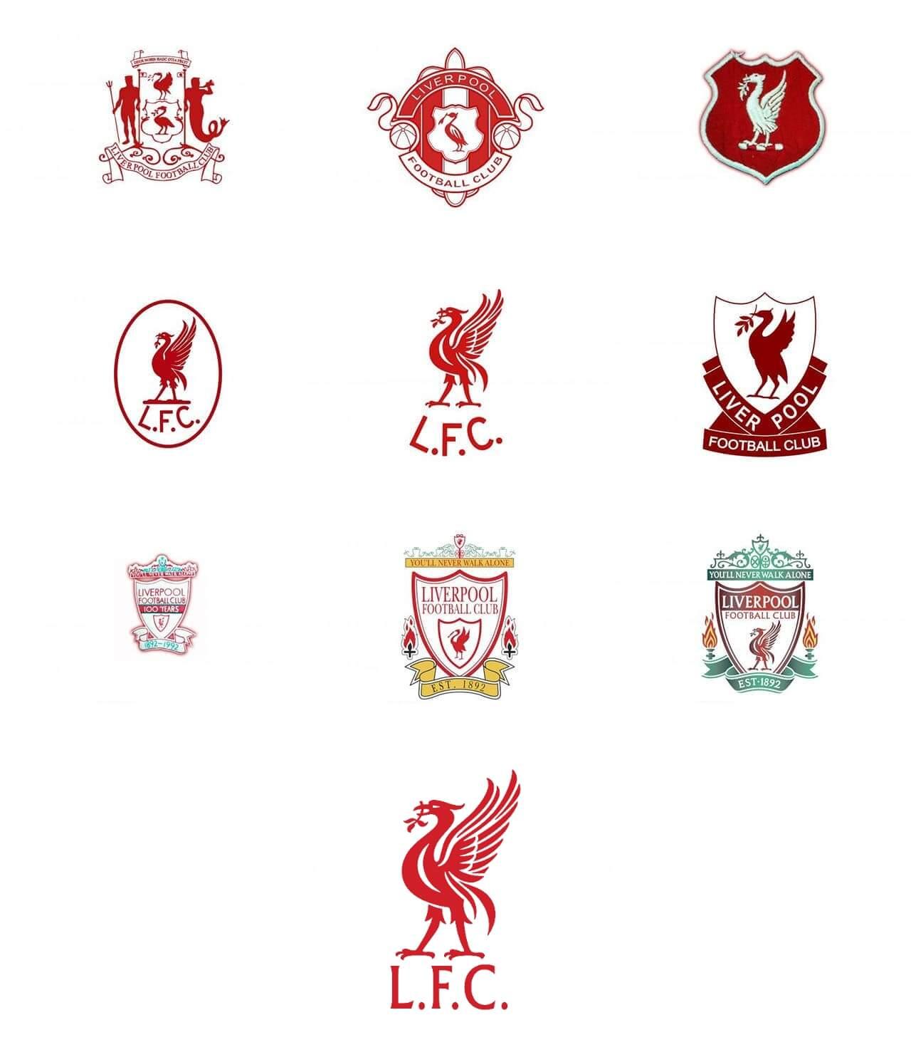 Historia del escudo del Liverpool