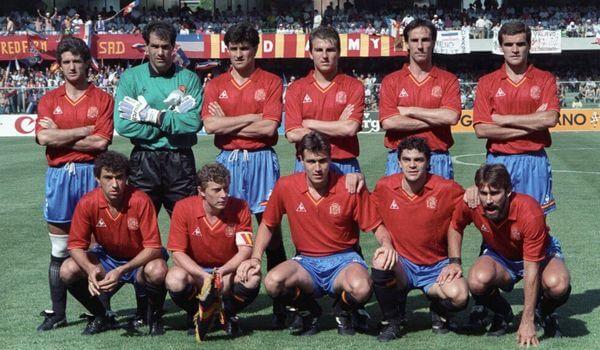 Maillot Espagne 1990