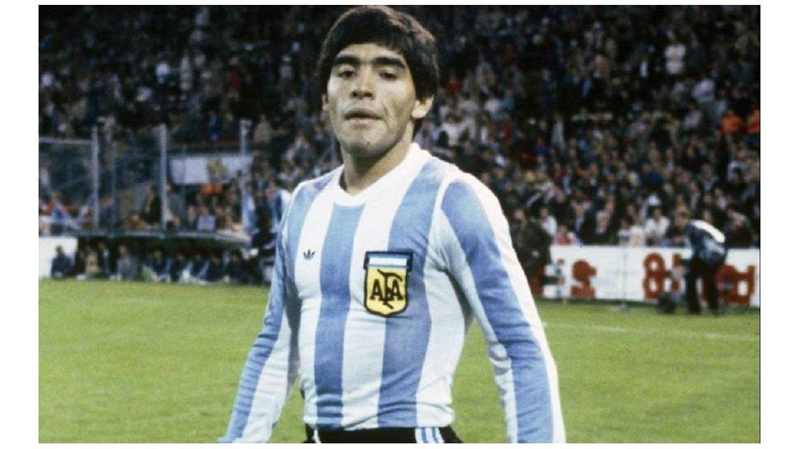 Maillot Maradona Argentina 1978