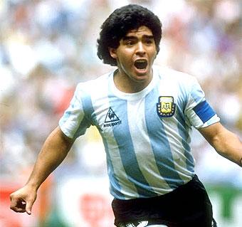 Maillot Maradona Argentina 1982