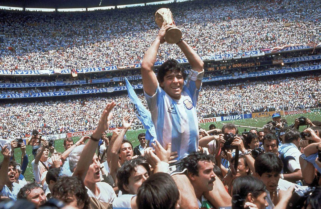 Maillot Maradona Argentina 1986
