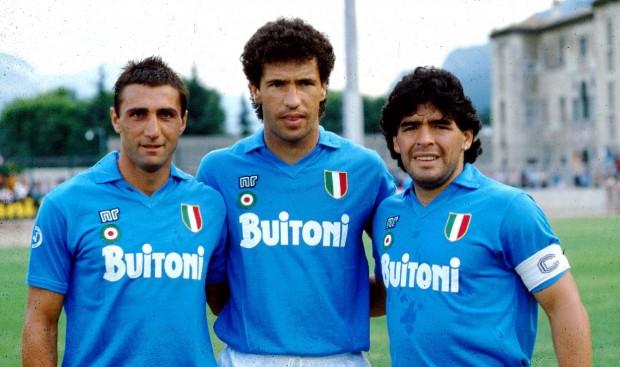 Maillot Maradona Napoli 1986 1987