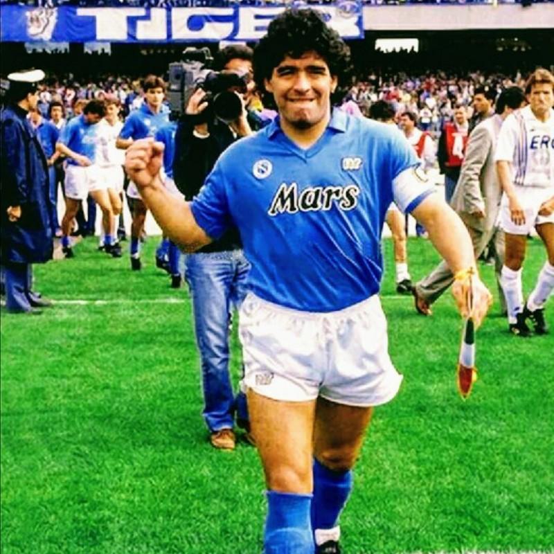 Maillot Maradona Napoli 1989 1990