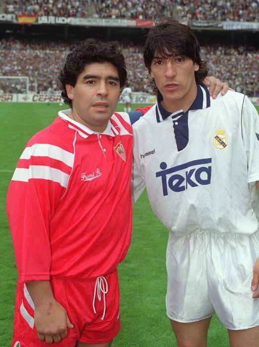 Maillot Maradona Sevilla 1992