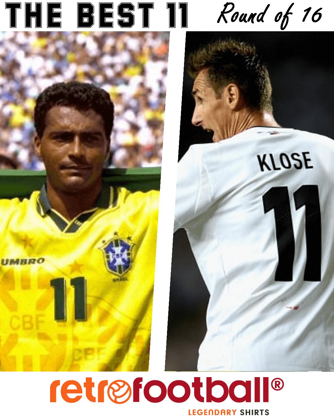 meilleur numéro 11 - Romario Klose