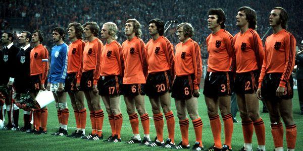 L'équipe nationale de Pays Bas 1974
