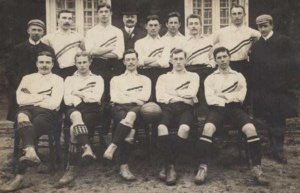 L'équipe nationale de Pays Bas 1905