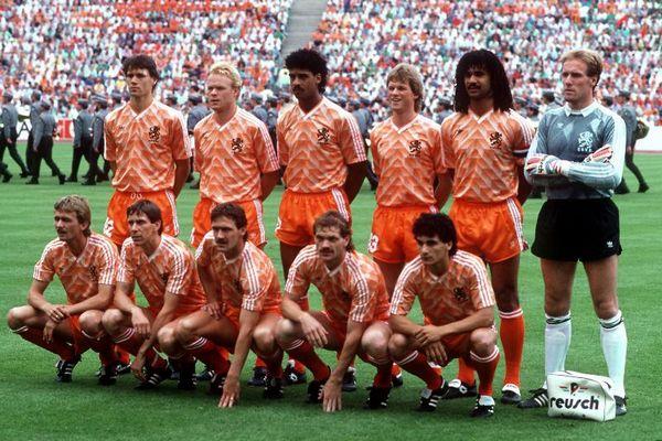 L'équipe nationale de Pays Bas 1988